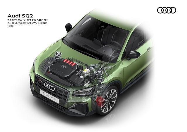 Voiture de sport compacte d'exception : Audi donne à l'Audi SQ2 un design encore plus abouti A208396-medium