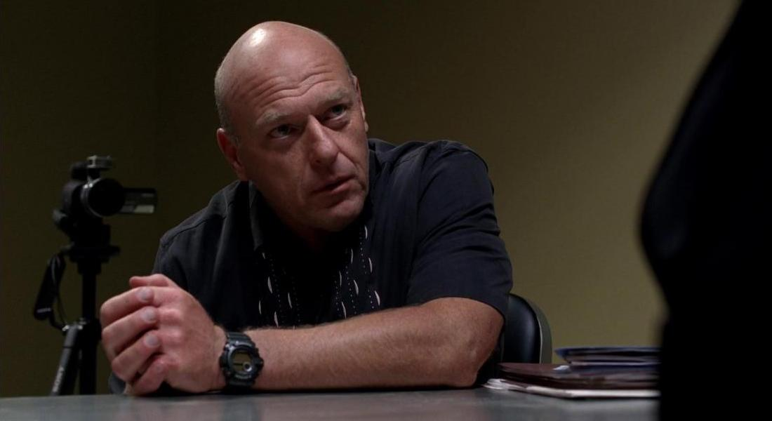 Dean Norris como Hank Schrader. Imagen: AMC