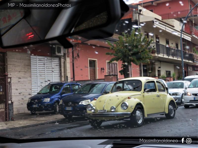 avvistamenti auto storiche Volkswagen-Maggiolone