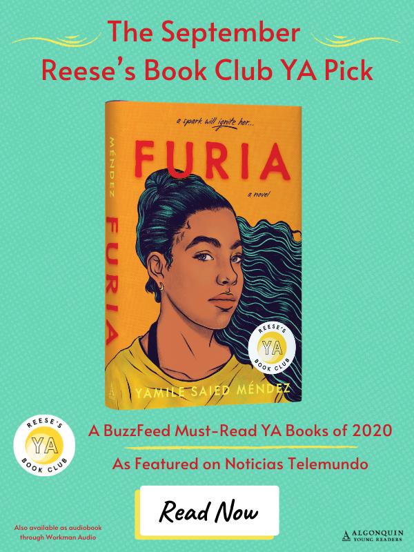 Furia in The September Reese's Book Club YA Pick