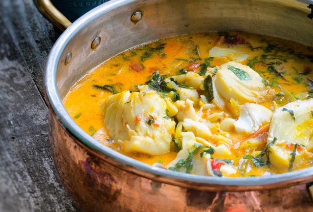 Суп из рыбы с оливковым маслом