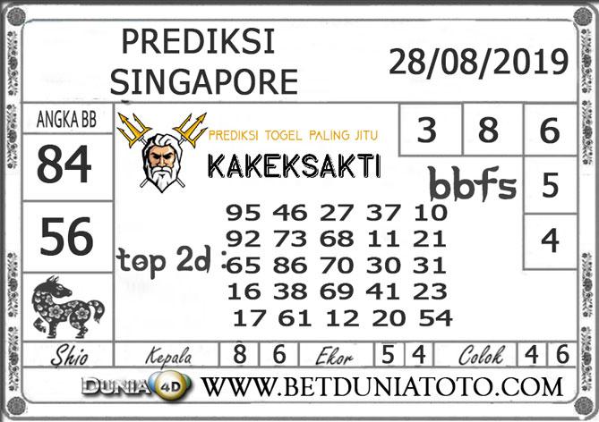 """Prediksi Togel """"SINGAPORE"""" DUNIA4D 28 AGUSTUS 2019"""