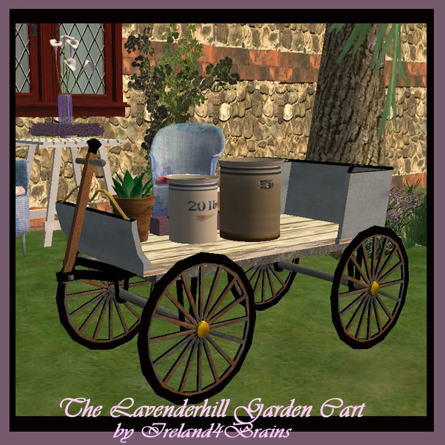"BPS-ireland4brains-I4-B-Lavender-Hill-Garden-Cart"" border=""0"