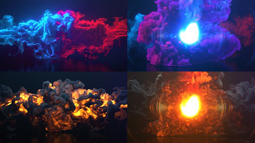 Colorful Smoke & Fire Logo 30160744 - Project for After Effects (Videohive)