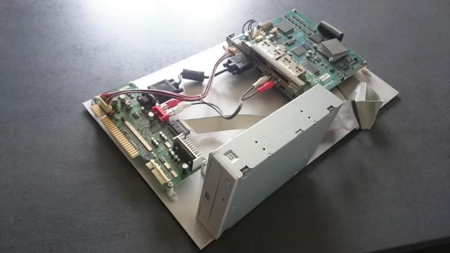 [ACH] Moonwalker PCB [VDS] Kinnikuman Grand Prix 2 pour System 246/256 DSC-0054