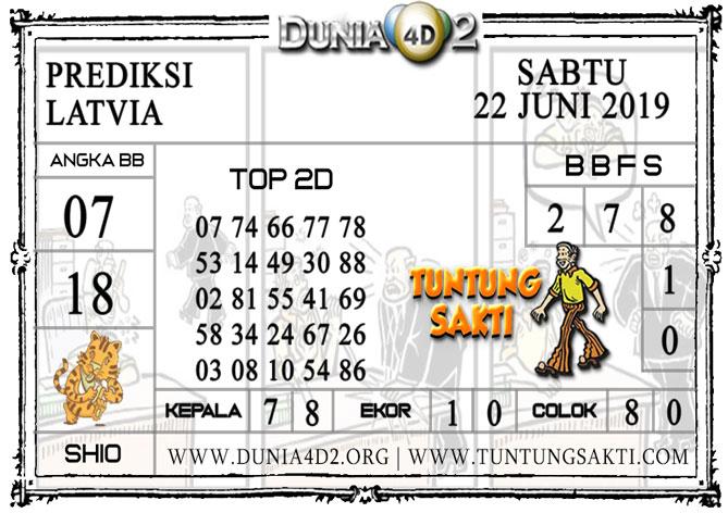 """Prediksi Togel """"LATVIA"""" DUNIA4D2 22 JUNI 2019"""
