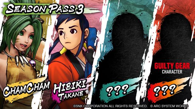 劍戟對戰格鬥遊戲《SAMURAI SHODOWN》季票3 DLC角色第一彈「查姆查姆」於3月16日上線! 來自人氣格鬥遊戲系列《GUILTY GEAR》的角色決定參戰! 7-SS-engseasonpass3-image-04