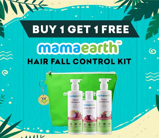 Mama Earth Hairfall Control Kit