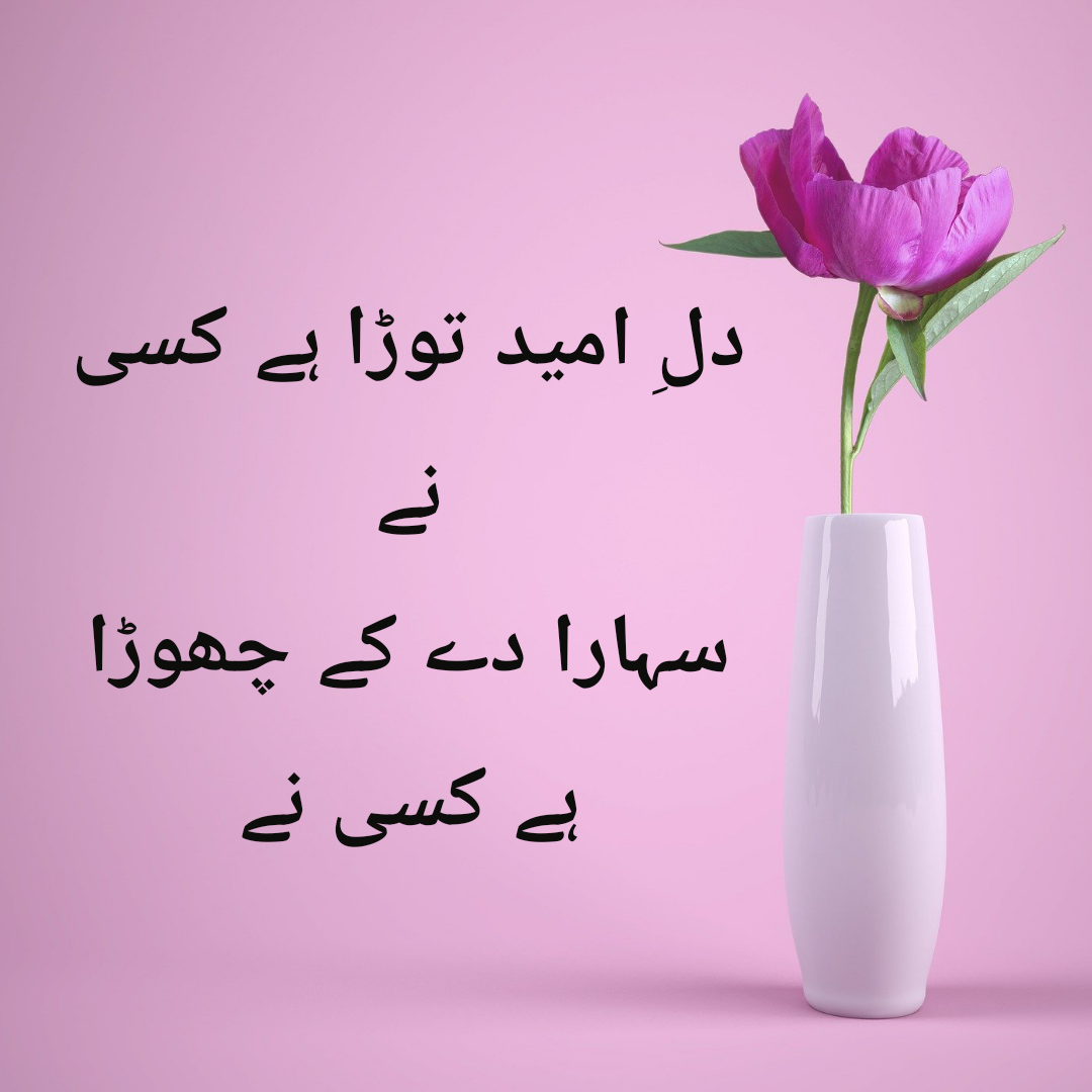 Dil E Umeed Tora Hai Kisi Ne Lyrics In Urdu