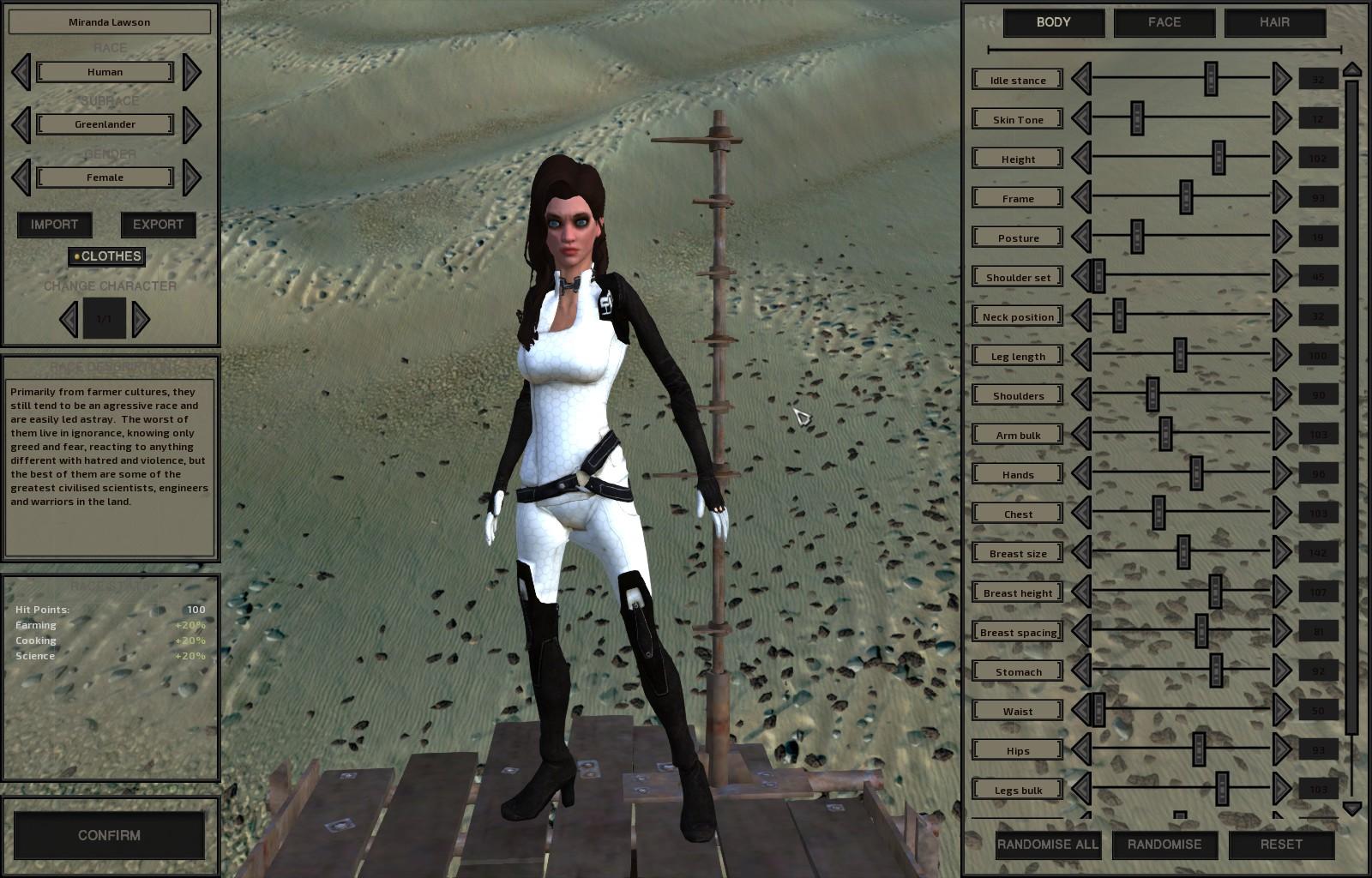 Miranda Lawson Armor Mod / Броня Миранды Лоусон (RU)