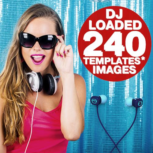 240 DJ Loaded - Images Templates (2021)