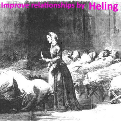 Improve relationships by Healing / Улучшайте отношения исцеляя других (RU)