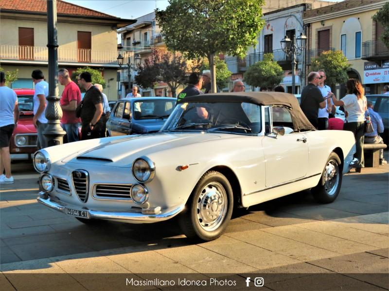 Raduno Auto d'epoca - Trecastagni (CT) - 21 Luglio 2019 Alfa-Romeo-2600-Spider-CT140346-1