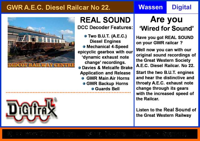 Digitrax-GWR-Railcar