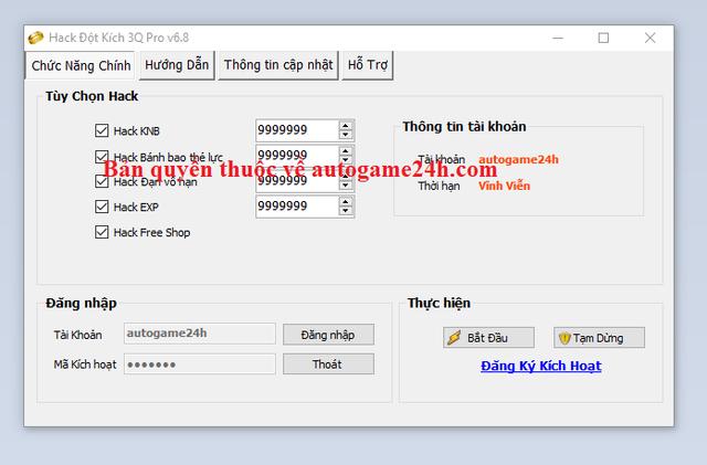 Hack Đột Kích 3Q miễn phí Dotkich3qasfa
