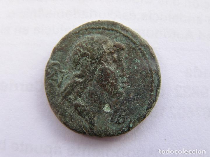Cual es la mejor manera de eliminar las corrosiones de esta moneda de Caligula? 02