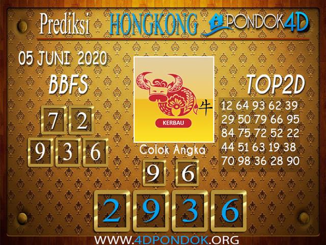 Prediksi Togel HONGKONG PONDOK4D 05 JUNI 2020