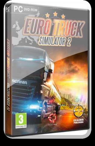 Euro Truck Simulator 2 (v.1.38.1.3s + DLC's) [2013г.] | RePack by xatab