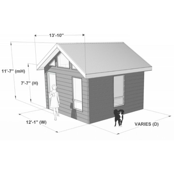 Portland Series Golf Shed