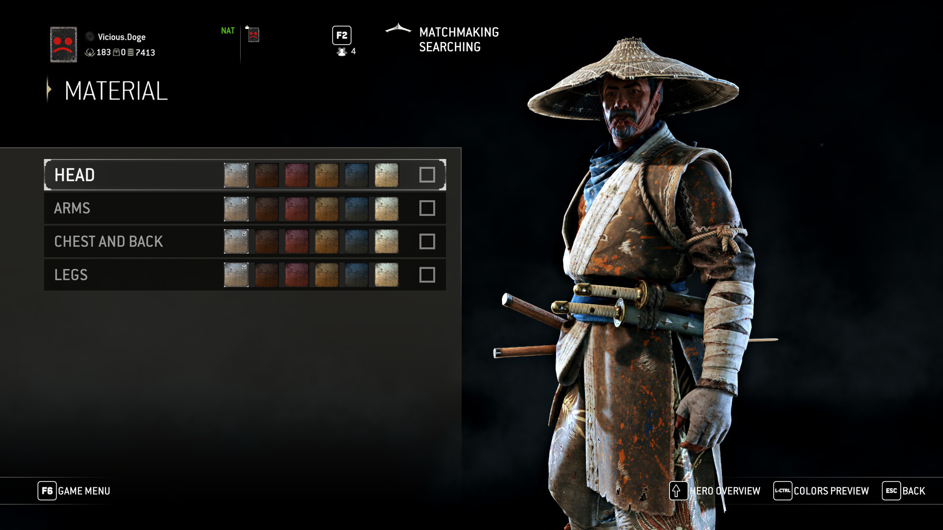I wish the material system in For Honor worked like this  :( : forhonor