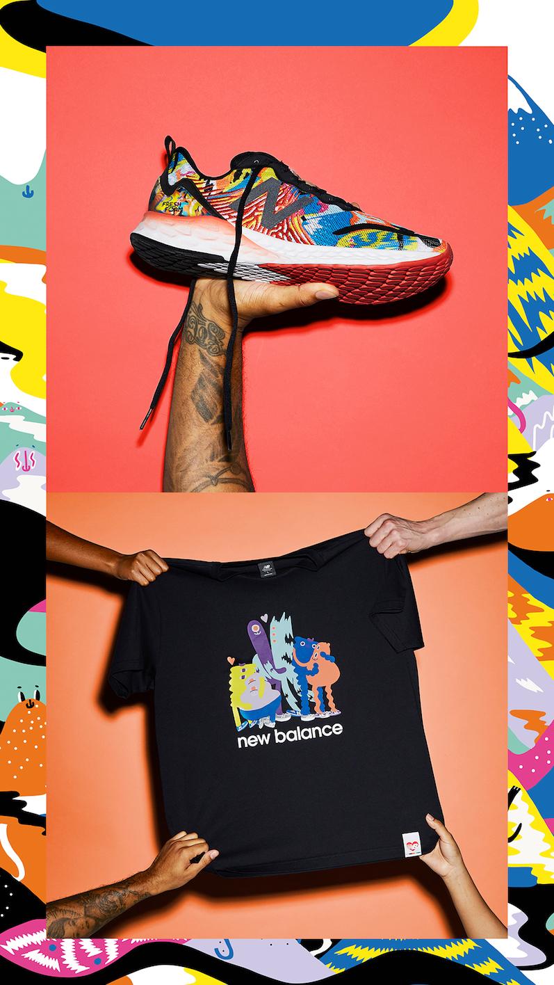 New Balance, la collezione per il Pride 2021