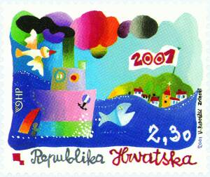 2001. year MILENIJSKA-MARKA