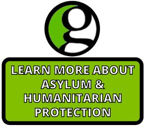 Asylum & humanitarian protection button