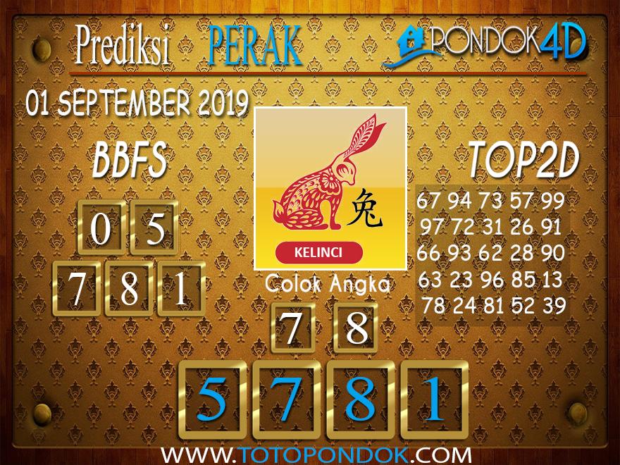 Prediksi Togel PERAK POOLS PONDOK4D 01 SEPTEMBER 2019