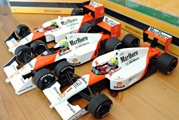 Senna World Champion Cars 1988,90,91 10