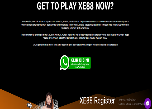 A large portion existing apart from everything else betting in huge sums won't promise you to win gigantic remunerates in playing ports. Port computer games are mega888 register as yet betting just as simply like any type of betting the odds of winning may be testing.   #xe88 #xe88register   Web: https://download.918kissapk.com.my/xe88-register/