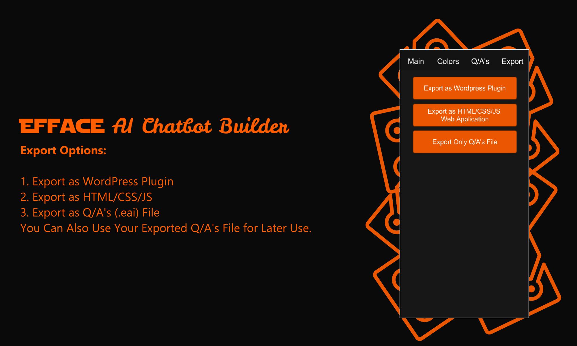 Efface AI Chatbot Builder - Wordpress Chatbot Builder - 5