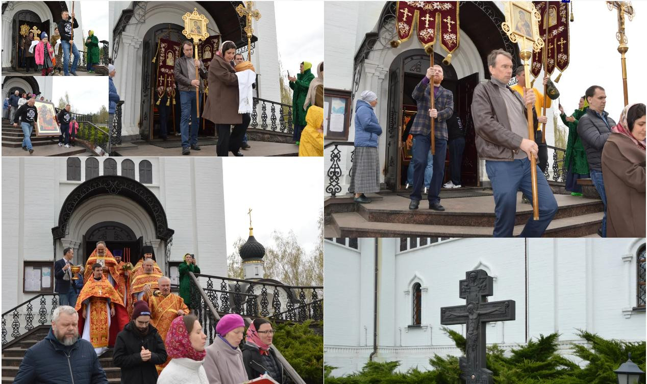 Празднование в честь Иверской иконы Матери Божией в храме Св. мч. Уара в Вешках
