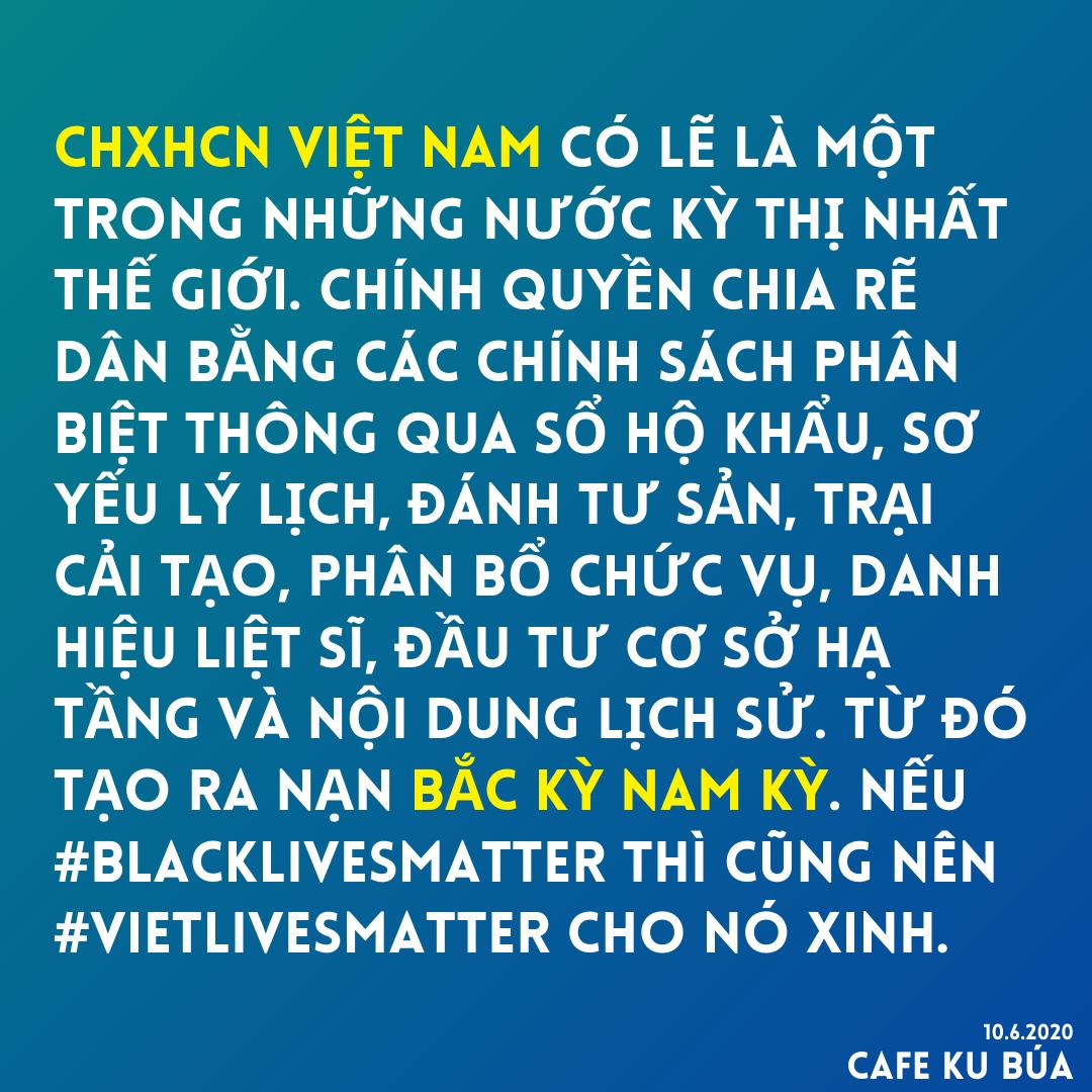 CHXHCN VIỆT NAM – NẠN PHÂN BIỆT KỲ THỊ