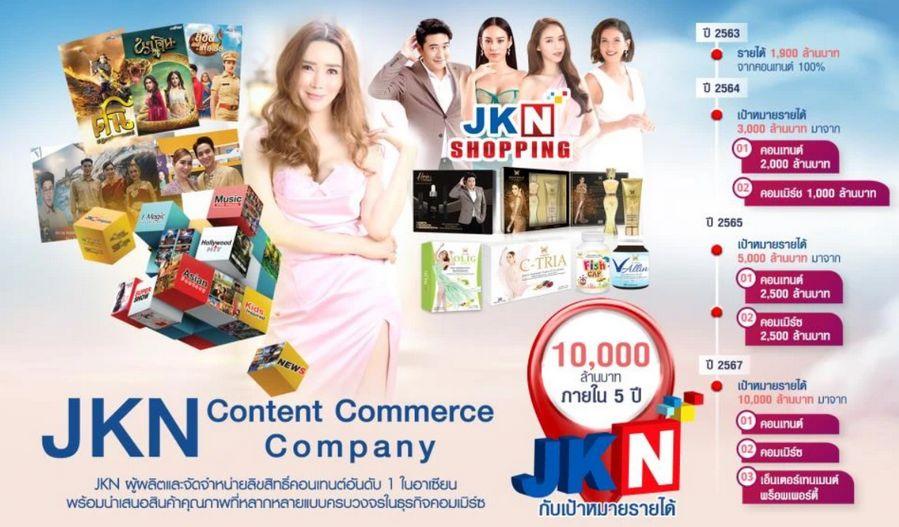 JKN ซื้อ NEW18,NEW18 เปลี่ยนชื่อเป็น JKN18,แอน จักรพงษ์,แอน จักรพงษ์ JKN18