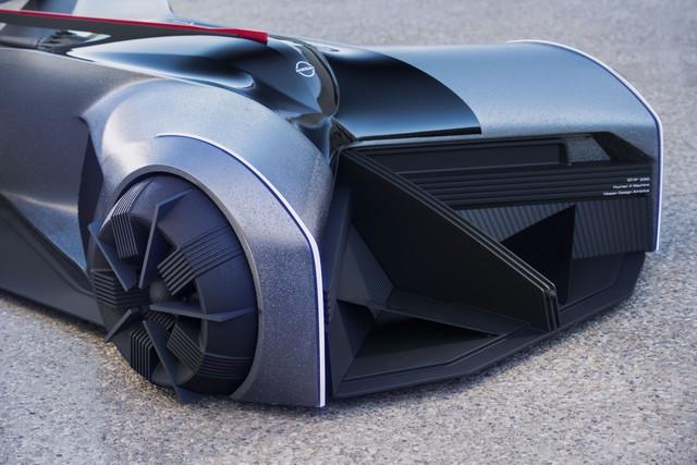 Nissan « GT-R(X) 2050 » : Le Projet D'un Stagiaire Devient Réalité Nis-GTR-2050-19-source