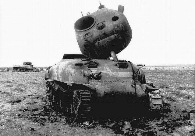 Sherman turret