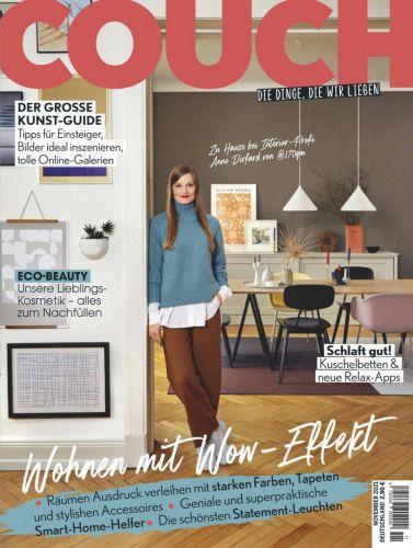 Cover: Couch Magazin Dinge die wir lieben No 11 November 2021