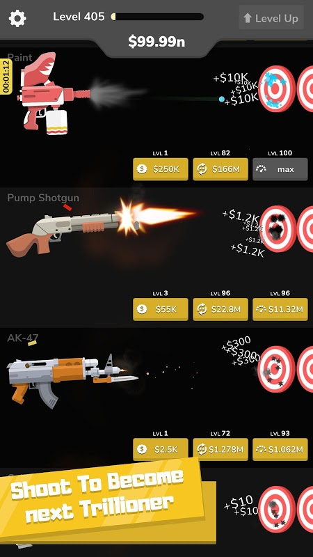 Gun Idle (MOD, Unlimited Money)