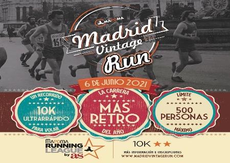 MAPOMA organiza el 6 de Junio la Madrid Vintage Run