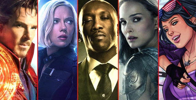 MCU-SDCC-2019-Reveals-Doctor-Strange-Black-Widow-Blade-Thor-Kate-Bishop