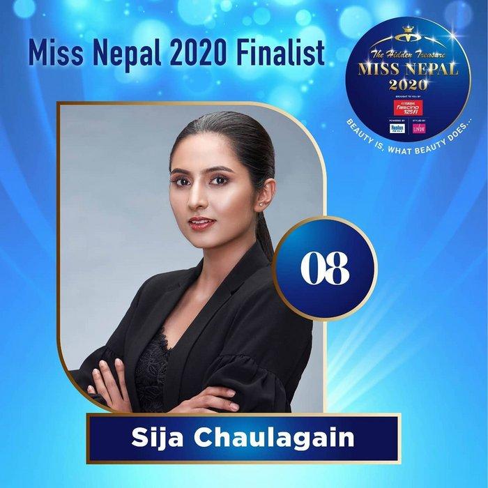 CANDIDATAS A MISS NEPAL 2020. FINAL 3 DE DICIEMBRE. 8