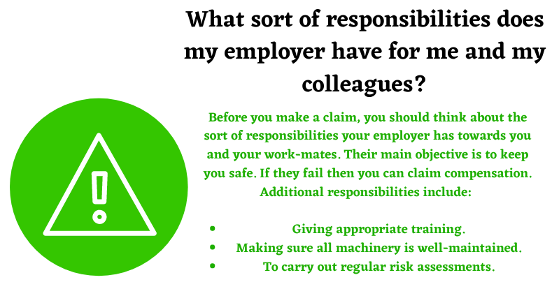 employer and colleagues responsibilities