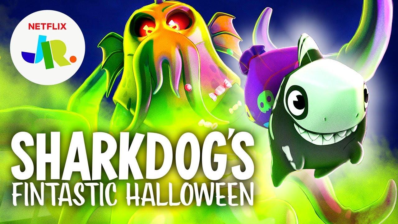 Camgöz Fantastik Cadılar Bayramı - Sharkdogs Fintastic Halloween 2021 1080p NF WEB-DL DUAL DD+5.1 H.264 Türkçe Dublaj