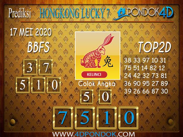 Prediksi Togel HONGKONG LUCKY 7 PONDOK4D 17 MEI 2020