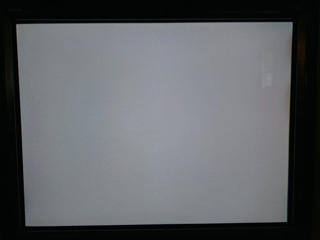 white screen no scanlines OSSC 240p test suite PSX