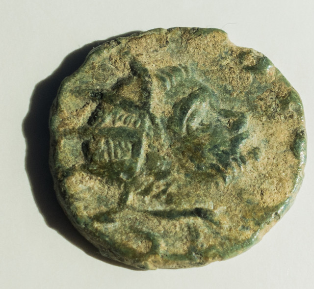 Radiado póstumo de Claudio II. CONSECRATIO. Altar Visi-2-1