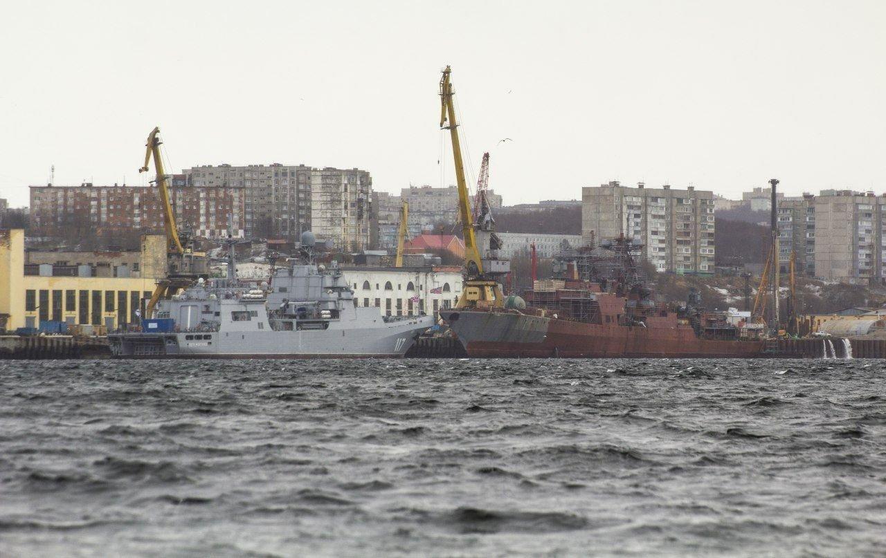 Udaloy and Sovremennyy destroyers - Page 20 Udaloy