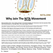 """All In One TALL Flyer/Sheet Of """"Nature Is The Answer"""" NITA.ONE"""