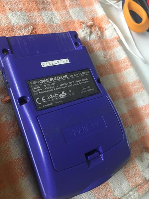[Vendu] Game Boy Color avec écran IPS 85€ 5-B35-B1-D7-9-F3-D-4432-BB18-BC2-FE481-EABE