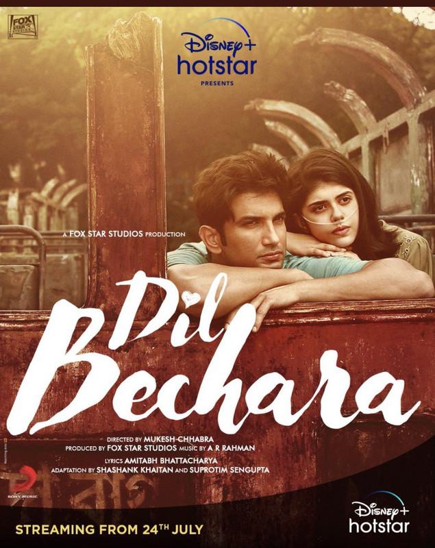 Dil Bechara (2020) Hindi 720p WEB-DL x264 AAC 1.3GB ESub